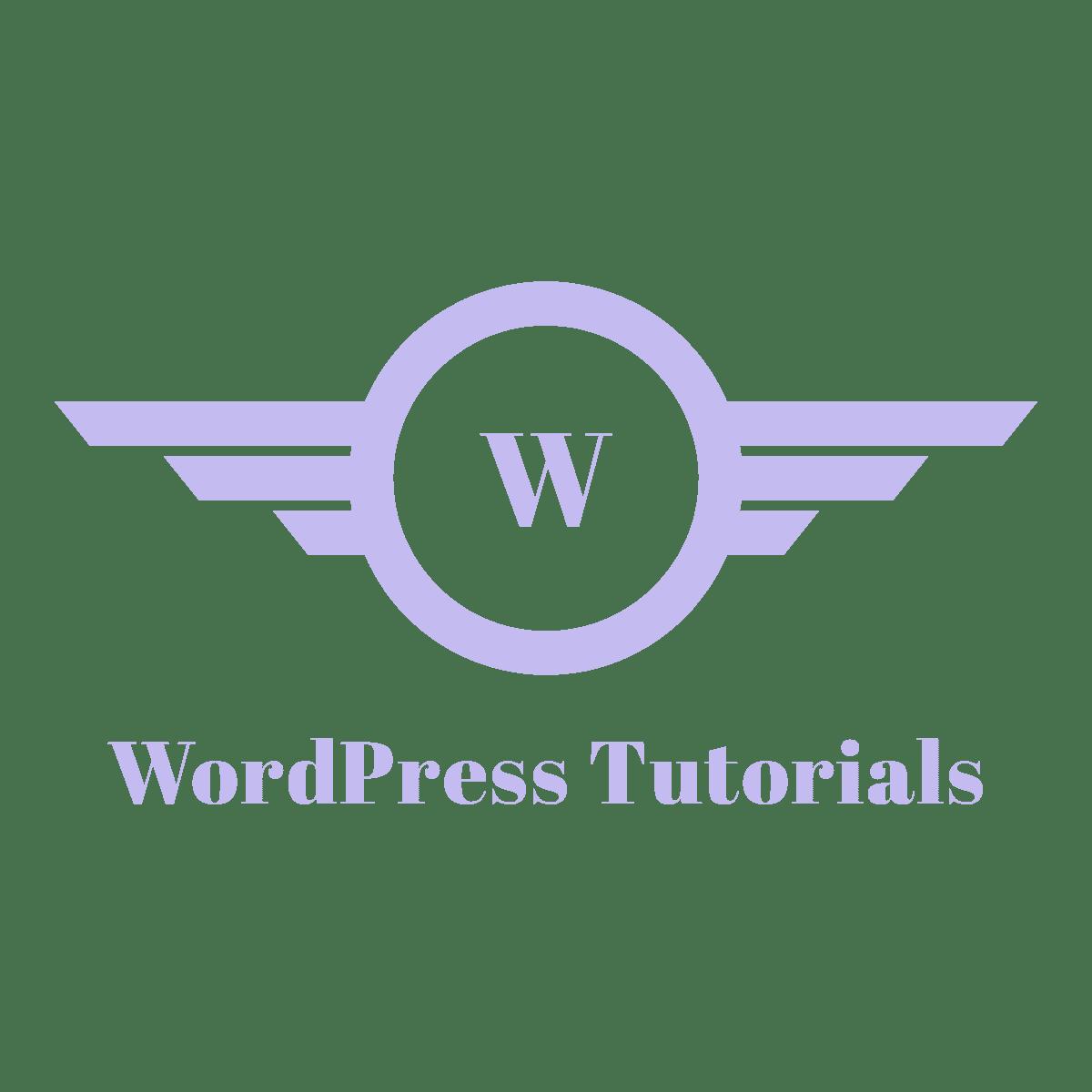 wordpress tutorials,wptutorial
