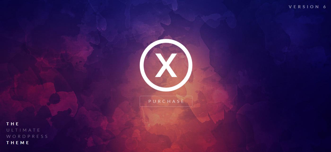 X | The Theme WordPress Thema, x the theme wordpress theme